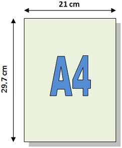 Dimensions de formats de papier A - A0, A1, A2, A3, A4, A5, A6, A7 ...