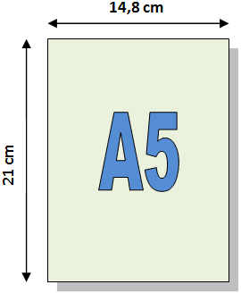 A5 Format In Cm